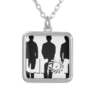Aurora 2017 NEW_Background3 Silver Plated Necklace