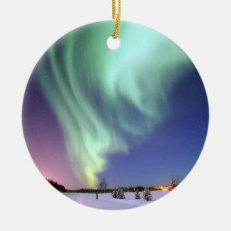 Aurora - Beautiful Northern Lights Ceramic Ornament