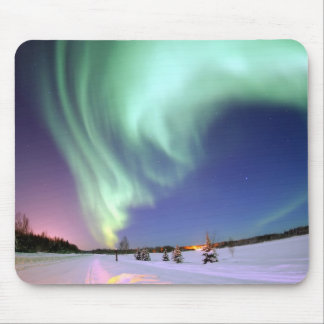 Aurora - Beautiful Northern Lights Mouse Pad