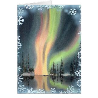 AURORA BOERALIS by SHARON SHARPE Card