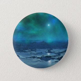 Aurora Borealis 6 Cm Round Badge