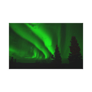 Aurora Borealis Alaska Canvas Print