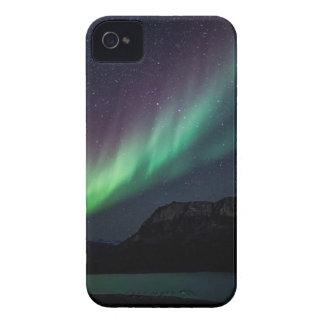 Aurora Borealis At Night iPhone 4 Cover