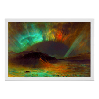Aurora Borealis by Frederic Edwin Church Print
