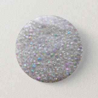 Aurora Borealis Crystals Image 6 Cm Round Badge