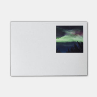 Aurora borealis in Finnish Lapland Post-it Notes