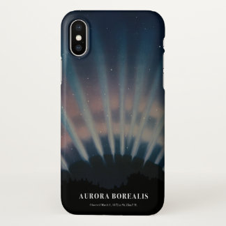 Aurora Borealis iPhone X Case