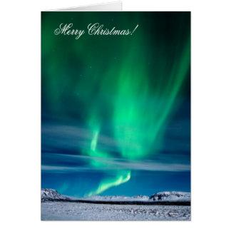 Aurora Borealis - Merry Christmas Card