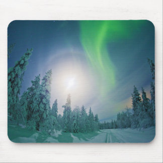 Aurora Borealis Mouse Pad