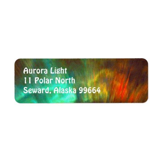 Aurora Borealis,  Northern Lights - Customisable Return Address Label