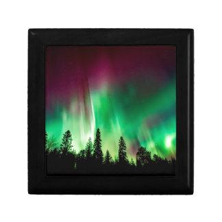 Aurora borealis northern lights gift box