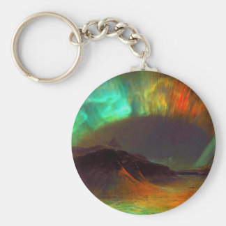 Aurora Borealis - Northern Lights Key Ring