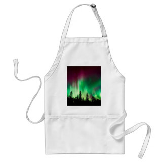Aurora borealis northern lights standard apron
