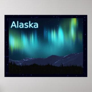 Aurora Borealis Poster