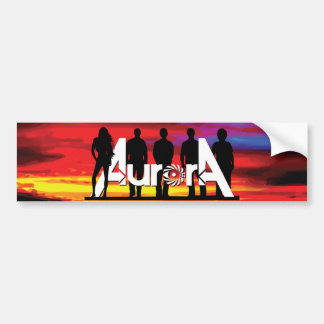 Aurora Bumper Sticker