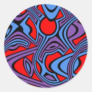 Aurora Classic Round Sticker