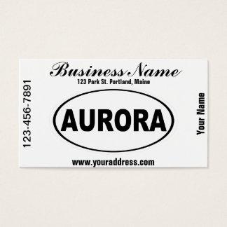 Aurora Colorado Business Card
