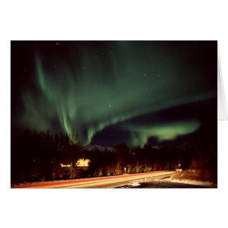 Aurora Highway Greeting Card