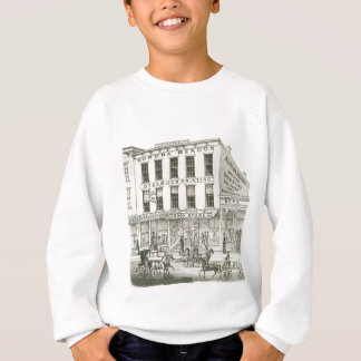 Aurora Illinois Aurora Beacon News 1871 Stone Lith Sweatshirt