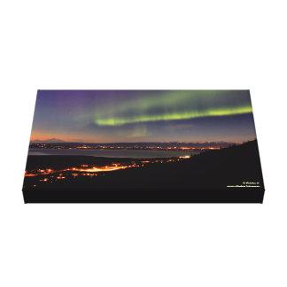 Aurora Over Eagle River, Alaska Canvas Print