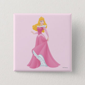 Aurora Posing 15 Cm Square Badge