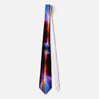 Aurora rainbow lights tie