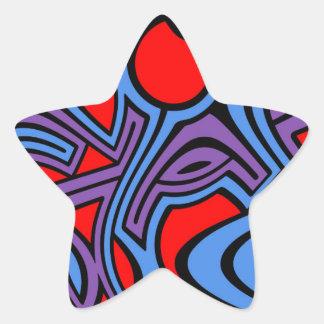 Aurora Star Sticker