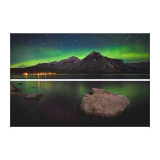 Aurora Trails Canvas Print