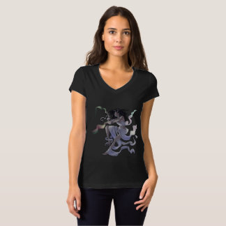 Aurora Weaver Fairy Magical Jersey V-Neck Tee