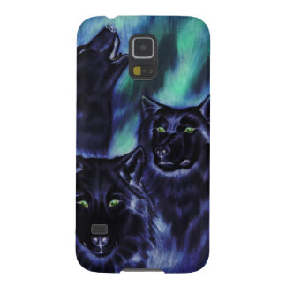 Aurora Wolves Supernatural Case For Galaxy S5