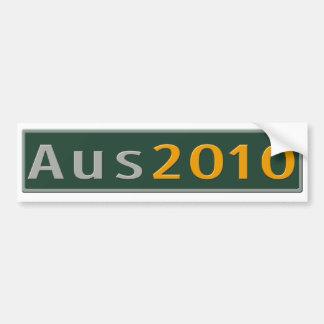Aus2010 Logo Bumper Sticker