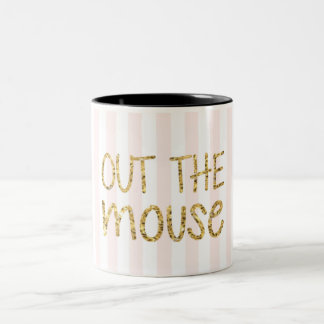 AUS DIE MAUS Two-Tone COFFEE MUG