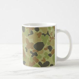 Auscam camouflage coffee mug