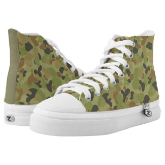 Auscam camouflage printed shoes