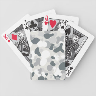 Auscam snow bicycle playing cards