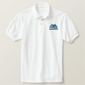 Ausdroid Mens Polo - Embroidered front/back