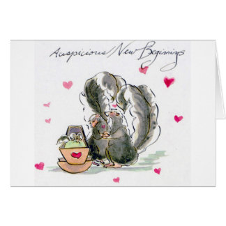 Auspicious New Beginnings Card