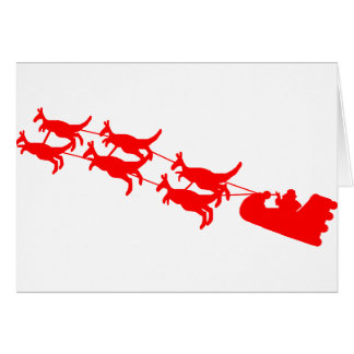 Aussie Christmas Gifts Greeting Card
