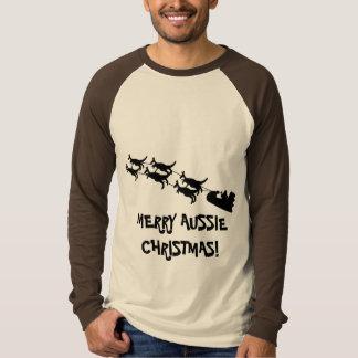 Aussie Christmas Gifts, Mens Raglan Shirt