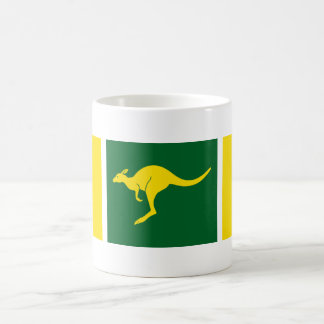 Aussie Colors Kangaroo Basic White Mug
