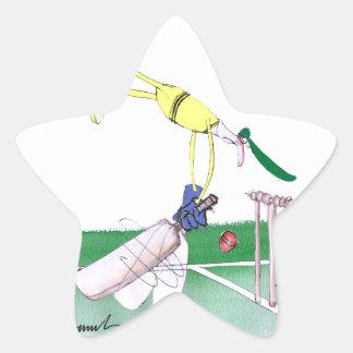aussie cricketer opening bat, tony fernandes star sticker
