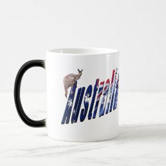Aussie Dimensional Logo, Magic Morph Mug