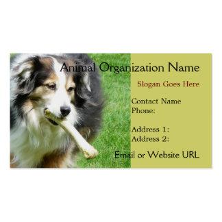 Aussie  Dog  Business Card