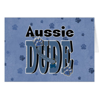 Aussie DUDE Card