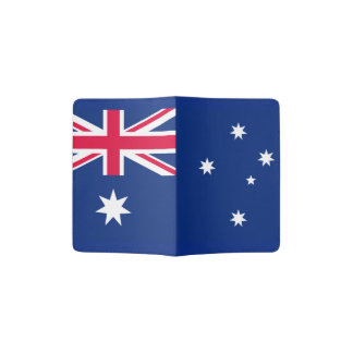 Aussie flag passport holder