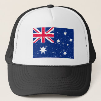 Aussie flag trucker hat