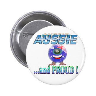 Aussie Furky Furry 6 Cm Round Badge