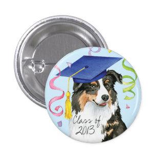 Aussie Graduate 3 Cm Round Badge