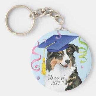 Aussie Graduate Key Ring