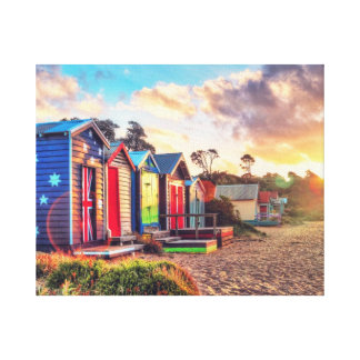 Aussie Life Stretched Canvas Print